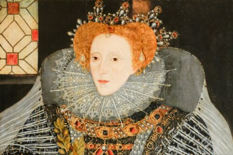 Queen Elizabeth I, by English School. ©National Trust Images.