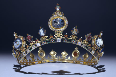 The Devonshire Parure - Tiara © Devonshire Collection. Reproduced by permission of Chatsworth Settlement Trustees