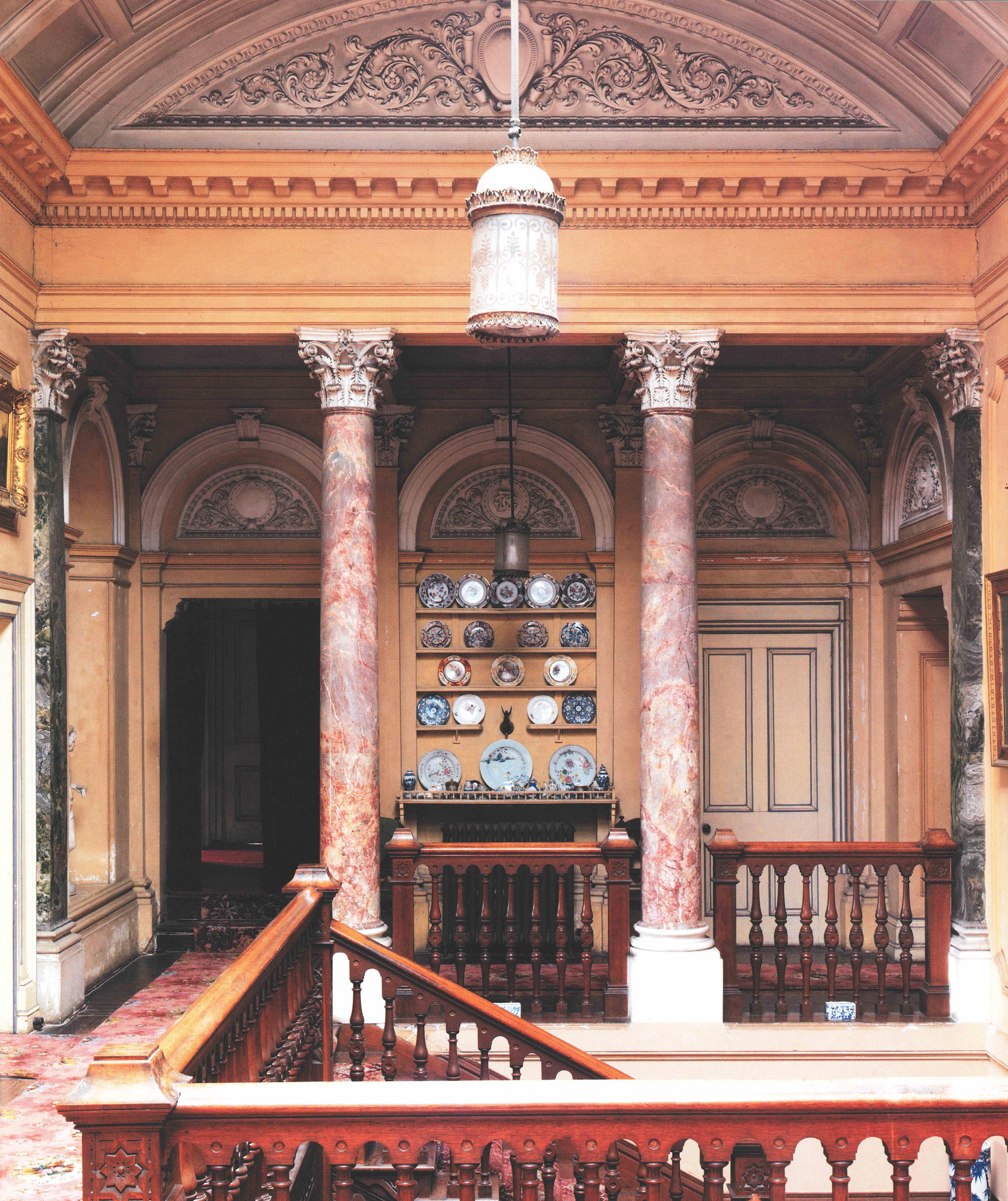 The Staircase at Stradbally Hall. © CICO Books 2009 Simon Brown