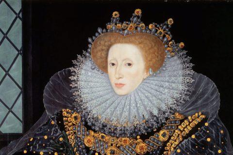 Elizabeth 1, c. 1585. Hatfield House