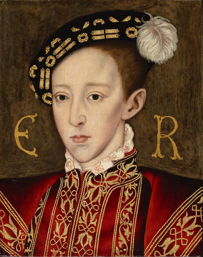 Portrait of Edward VI of England