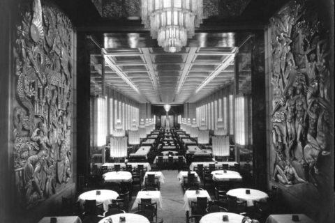 SS Normandie interior, 1935