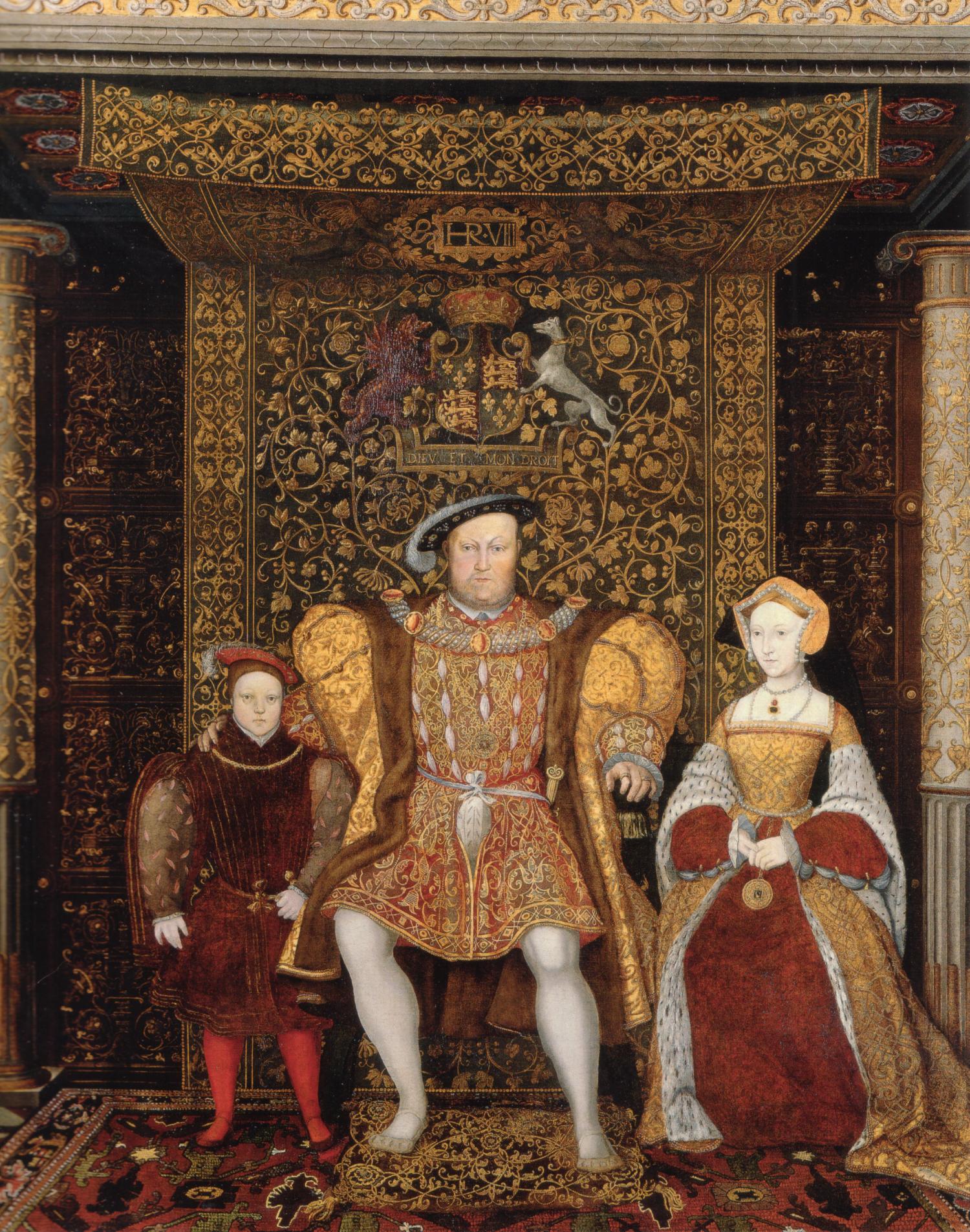 The Family of Henry VIII, c. 1545. Hampton Court Palace