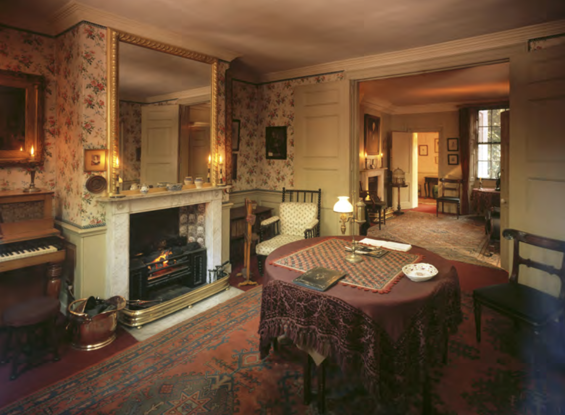 2. The Interior of Carlyle's House before the new carpet was installed, ©National Trust Images/Matthew Hollow