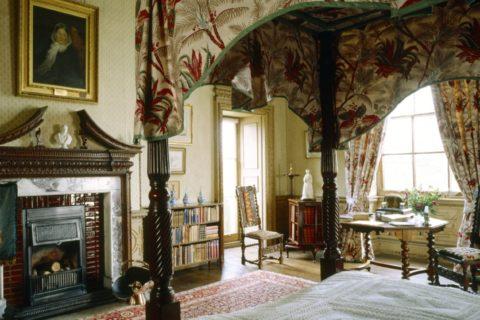 Florence Nightingale's room at Claydon, Buckinghamshire
