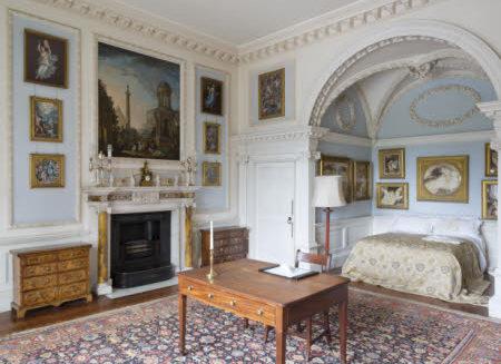 Italian Bedroom at Stourhead National Trust Images James Dobson