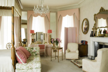 Lady Anglesey's bedroom at Plas Newydd National Trust Images Andreas von Einsiedel