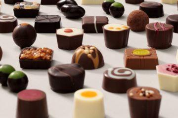 Various chocolates by Hotel Chocolat